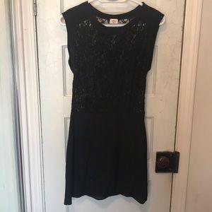 Wilfred silk black dress